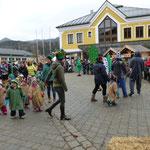 Vorführung des Kindergartens...