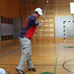 Behinderte beim Training in der Sporthalle des Schulungszentrum Ungargasse, 3. Wien