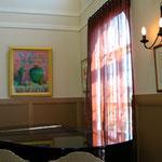 メロディアス  size F20 ※右側の絵画は、ボタニカルアーティスト様の作品です。