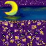 東京の夜景 /2002年