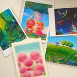 2011/3/19、5枚のポストカードを「Bodaiju Cafe」様に発送いたしました。