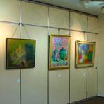 ◆第12回グループ展 2012年11月28日(水)~12月3日(月)/Tホール 作品数:48点/画像掲載の了解を得ておりませんので、メンバーのオリジナル作品は、ぼかしてUPさせて頂きます