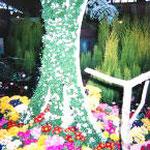 三重県花博、某開発公団社の作品で銅賞を受賞。デザインに携わらせて頂きました(公団社マークをスマートに表現)/1999