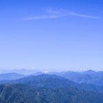 Vue sur les montagnes du Luzon