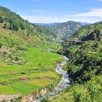 Sur la route entre Sagada et Banaue