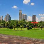 Rizal Park à Manille