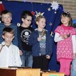 Weihnachtsfeier Grundschule Ziegelhütten, Foto: Jasmin Hatzold