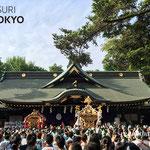 〈2017年 くらやみ祭り〉2017.5.6 ©real Japan'on : krym013
