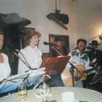 09.11.1996 Auftritt im Bahnhof Langerwehe