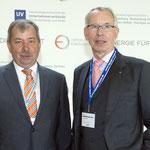 Gründer des Ostdeutschen Energieforums: Wolfgang Topf und Hartmut Bunsen