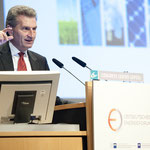 """Günther Oettinger, EU-Kommissar für Energie zum Thema """"Zeitenwende: Grundlagen der europäischen Energiepolitik"""""""