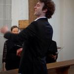 Chorleiter Johannes Dasch