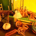 Instrumente aus Guinea