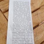 Konzert 10.09.13 General-Anzeiger Bonn