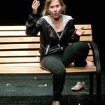 Elaine aus Die eine und die andere von Botho Strauss, Theater Felina-Areal. © Wolfgang Detering
