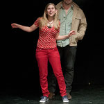 Kasimir und Karoline mit Sebastian Borucki, Theater Felina-Areal.© Wolfgang Detering