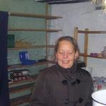 Manuela, unsere gute Glühweinfee