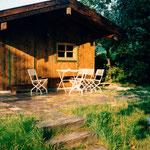 1991 Fertigstellung der Hütte
