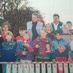 1993 Siegerehrung Kinder Dorfmeisterschaft 1993