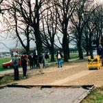 1992 Bau der 2. Stockbahn