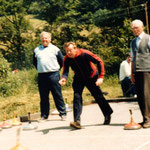 1987 Turnier auf der neuen Stockbahn
