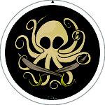 Badge réalisé pour l'association Bulle d'Encre