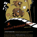 Flyerpour le Festival Prototype Vidéo 2013