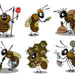 Les métiers de l'abeille : support pour ateliers pédagogique en classe