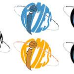 Logo pour le Réseau International de la Marionnette pour l'Éducation et la Santé (RIMES)
