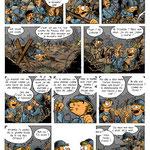 Tripallère et Troudobu - Projet de gags en 1 case