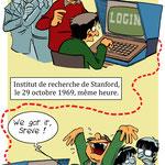 Webtoon pour un manuel scolaire aux éditions Didier jeunesse (extrait)