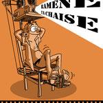 Affiche pour une projection privée dans le 20e arrondissement