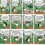 Extrait de Le Manchot tome 2 : Niaiseries en maudit (éd. Comics Trip)