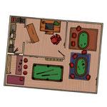 Illustration pour un livre-jeu (Dans les griffes de la mafia - éd. Larousse)