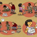 Déroulé d'activité présentée sur le temps scolaire et périscolaire