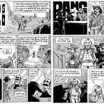 Adios Prolo, BD diffusée dans RAV mag n° 31 : D'Est en ouest - scénario : Ze Noon