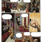 Extrait de Sherlock Holmes & Moriarty, associés (scénario : Ced) - éd. Makaka