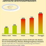 jährliche Brennstoffkosten