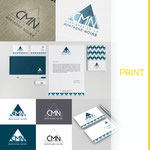 Création d'une nouvelle identité visuelle, d'un logo pour la société CARRIERES DE LA MONTAGNE NOIRE