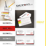 Réalisation de cartes de visite et d'un logo pour la société DUPONT SAS