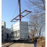 Demontage und Abtransport von Kühlaggregaten