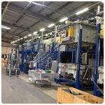 Rückbau von Ziehöfen aus Silizium-Fertigung