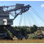 Demontage eines Tagebaubagger (ca. 1.300 to)