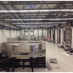 Rückbau einer PECVD-Anlage (Glasbehandlung für Solaranlagen)
