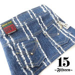 Damage Denim Skirt