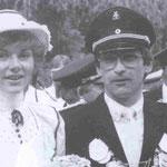 1984 Gerhard Bertels und Frau Ute, Helden