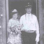 1975 Gottfried Steinberg und Frau Hilde, Repe
