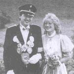 1986 Stephan Schulte und Frl. Barbara Blümer, Niederhelden
