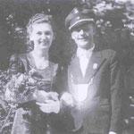 1949 Alfred Platte und Frl. Agnes Humberg, Helden