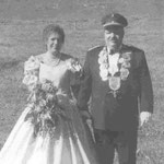 1997 Elmar Vogt und Frau Cläre, Niederhelden